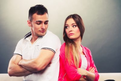 Indifference towards the partner
